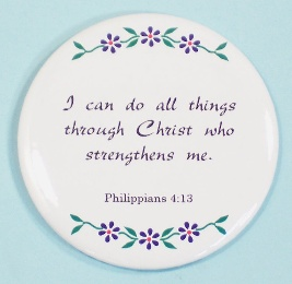 3-1/2 inch Refrigerator Magnets - choose from over 50 scripture selections.